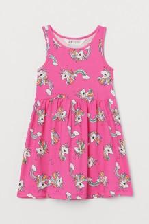 H&M Сарафан детский розовый с единорогами