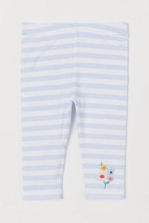 H&M Капри детские бело-голубые в полоску