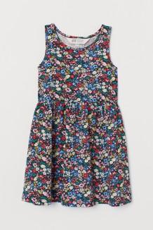 Сарафан для девочки разноцветный с цветами