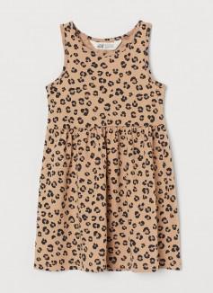Сарафан детский леопардовый