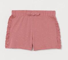 H&M Шорты для девочки темно-розовые