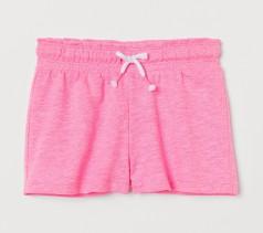 H&M Шорты детские для девочек розовые