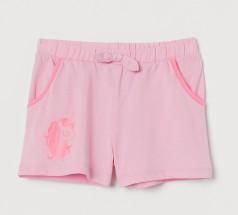 H&M Шорты детские для девочек розовый