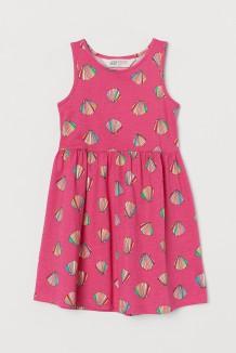H&M Сарафан для девочки розовый с ракушками