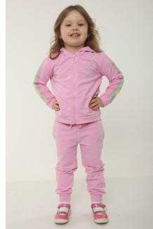 Wanex Спортивный костюм детский розовый с радугой