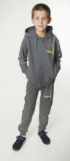 Wanex Спортивный костюм для мальчика теплый серый