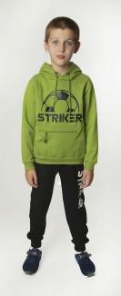 Wanex Спортивный костюм для мальчика с футбольным мячом худи и спортивные штаны