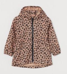 H&M Ветровка для девочки леопардовая