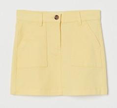 H&M Юбка для девочки жёлтая