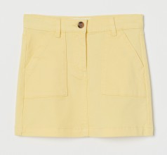 H&M Юбка детская жёлтая