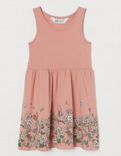 """H&M Сарафан для девочки розовый """"Цветочное поле"""""""