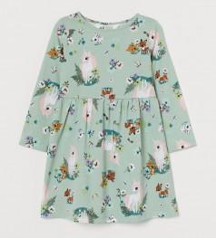 """H&M Платье для девочки """"Зверята"""""""