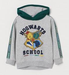 "H&M Худи для мальчика ""Harry Potter"" серый"