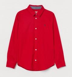 H&M Рубашка для мальчика красная