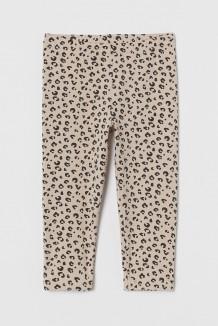 H&M Капри детские бежевые леопардовые