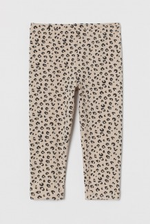 H&M Капри для девочки деопардовые