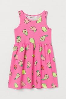 """H&M Сарафан для девочки розовый """"Авокадо&лимон"""""""