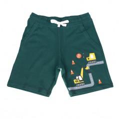 H&M Шорты для мальчика зеленые с эскалатором