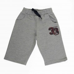 Breeze girls & boys Шорты для мальчиков серые с карманами