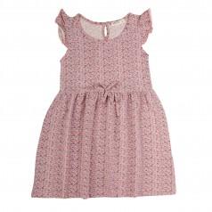 Breeze girls & boys Сарафан для девочки розовый в мелкие цветочки