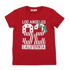 "Wanex Футболка для мальчика ""Los Angeles"" красная"