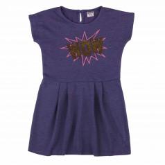 Wanex Платье для девочки фиолетовое с пайетками-перевертышами