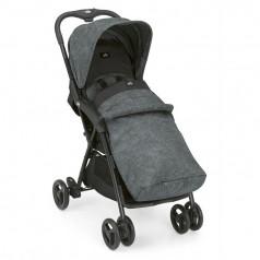 Cam Прогулочная коляска CURVI, серый меланж