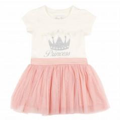 Breeze girls & boys Платье с короной и розовой фатиновой юбкой