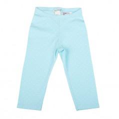 H&M Капри детские голубые в белый мелкий горох