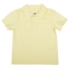 H&M Поло для мальчиков жёлтое