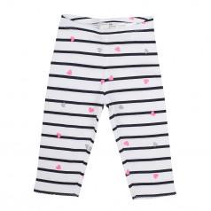 H&M Капри детские белые в полоску с сердечками