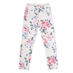 H&M Треггинсы детские бежевые с цветами