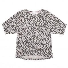 H&M Футболка с длинным рукавом для девочки леопардовая