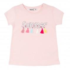 Wanex Футболка детская розовая летняя