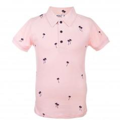Wanex Поло детское для мальчика розовое