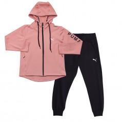 Wanex Спортивный костюм для девочки розово-чёрный