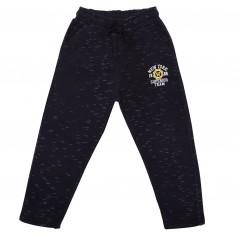 Wanex Спортивные штаны для мальчика чёрные с начёсом