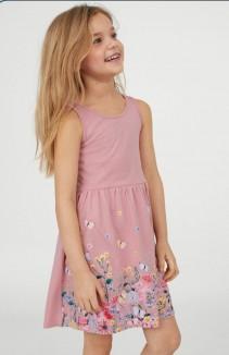 H&M Сарафан для девочки с цветами и бабочками
