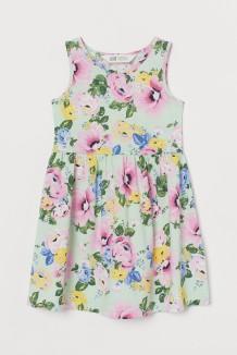 H&M Сарафан для девочки разноцветный с цветами