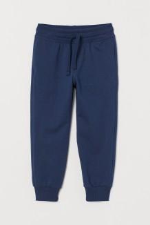 H&M Спортивные штаны для мальчика с манжетами синие
