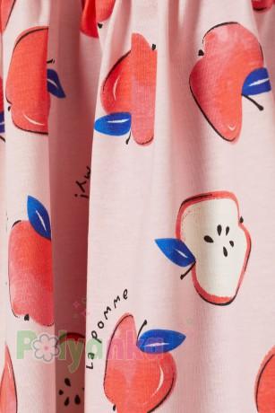 H&M Сарафан детский розовый с яблоками - Картинка 2