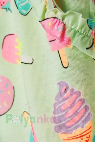 H&M Шорты для девочки  с мороженками - Картинка 2