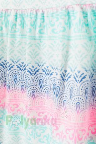H&M Сарафан для девочки белый с узорами - Картинка 2