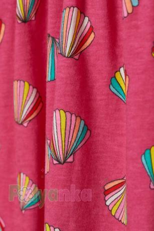 H&M Сарафан для девочки розовый с ракушками - Картинка 2