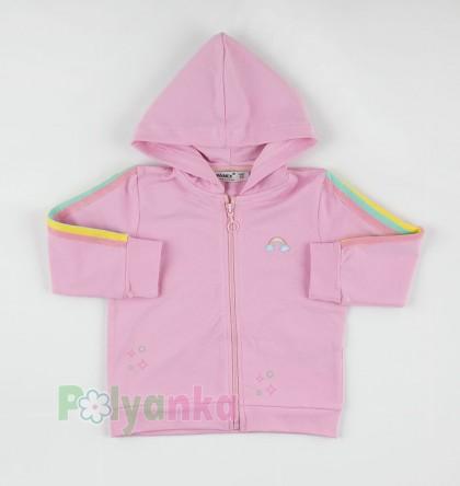 Wanex Спортивный костюм детский розовый с радугой - Картинка 5
