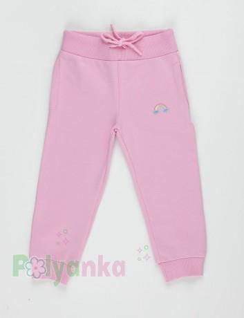 Wanex Спортивный костюм детский розовый с радугой - Картинка 6