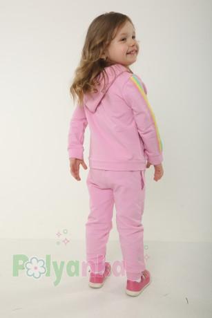 Wanex Спортивный костюм детский розовый с радугой - Картинка 2