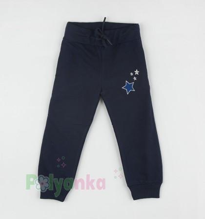 Wanex Спортивный костюм для девочки синий с пайетками-перевёртышами - Картинка 7
