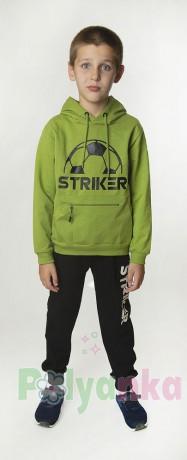 Wanex Спортивный костюм для мальчика с футбольным мячом худи и спортивные штаны - Картинка 1