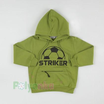 Wanex Спортивный костюм для мальчика с футбольным мячом худи и спортивные штаны - Картинка 2